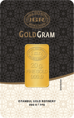 Buy 20 gram gold with cryptocoins