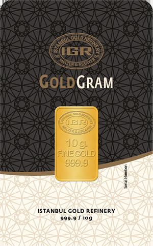 10 gram Gold Bullion