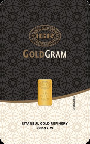 Istanbul Gold Refinery Gram Gold Bars