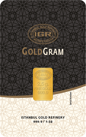 999.9 Fine Gold Bullion