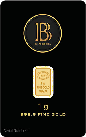 BlackCoin Gold Bars – now USD 52.98 inc. shipping