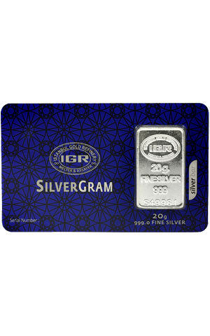 20 gram Silver - Istanbul Gold Refinery